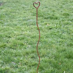 Växtstöd Hjärta i rost