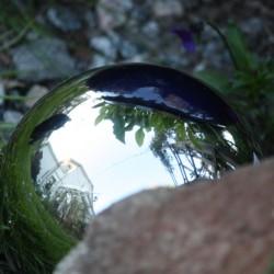 Silverkula stor 25 cm